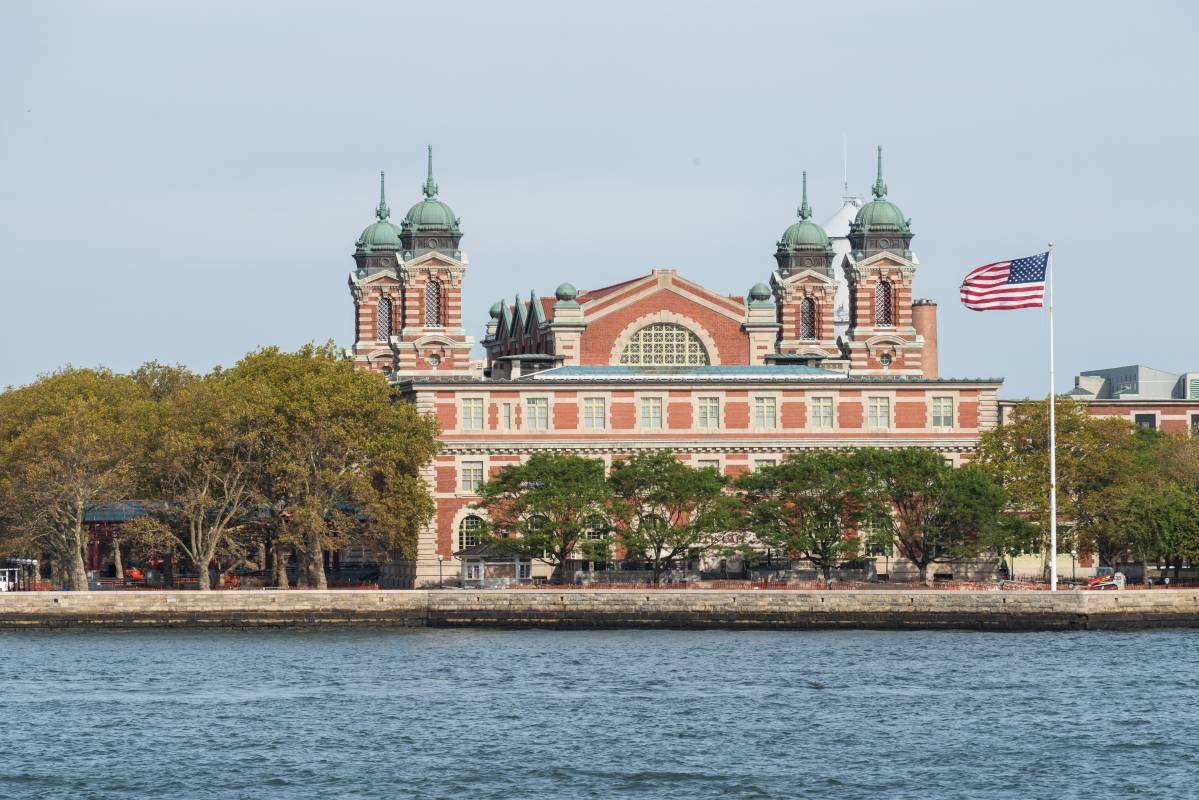 Ellis Island Site Anglais